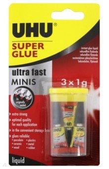 """Клей универсальный """"Super Glue"""" 3 штуки (45415)"""