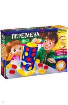 Купить Игра настольная семейная 4 ПЕРЕМЕНА (Ф86619), Фортуна, Другие настольные игры