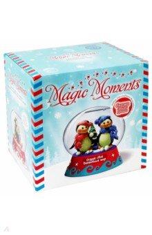 Купить Набор Волшебный шар. Пингвины (MM-8), Bumbaram, Наборы для лепки с игровыми элементами