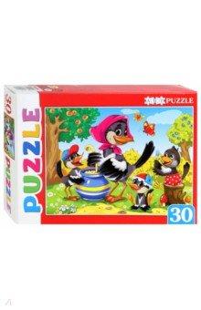 Купить Artpuzzle-30 СОРОКА-БЕЛОБОКА (ПА-4509), Рыжий Кот, Пазлы (12-50 элементов)