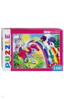 Купить Artpuzzle-160 Пони и радуга (ПА-4549), Рыжий Кот, Пазлы (100-170 элементов)