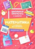 Математика. 1-4 классы. Все правила
