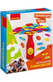 Купить Игра обучающая, настольная РАВНОВЕСИЕ (ВВ3153), BONDIBON, Обучающие игры