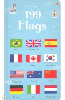 Купить 199 Flags (Board Book), Usborne, Книги для детского досуга на английском языке