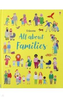 Купить All About Families (My First Book), Usborne, Книги для детского досуга на английском языке
