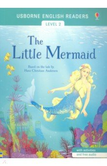 Купить The Little Mermaid, Usborne, Художественная литература для детей на англ.яз.