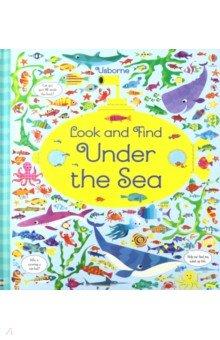 Купить Look and Find Under the Sea (HB), Usborne, Книги для детского досуга на английском языке