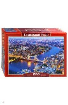 Купить Puzzle-1000. Лондон с высоты птичьего полета (C-104291), Castorland, Пазлы (1000 элементов)
