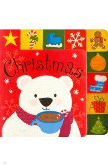 Купить Christmas, Priddy Books, Первые книги малыша на английском языке