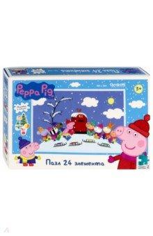 Купить Пазл-24 Peppa Pig. Дорогой Дед Мороз! (04305), Оригами, Пазлы (15-50 элементов)