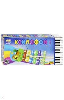 Купить Ксилофон детский, в коробке 21см (D-00042), DoReMi, Музыкальные инструменты