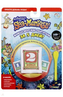 Купить Набор с расходными материалами Sea-Monkeys (Т13630), 1TOY, Наборы для опытов