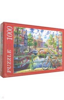 Купить Puzzle-1000 КАНАЛ В АМСТЕРДАМЕ (Ф1000-6798), Рыжий Кот, Пазлы (1000 элементов)