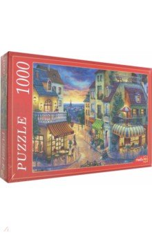 Купить Puzzle-1000 ЕВРОПЕЙСКАЯ УЛОЧКА (Ф1000-6813), Рыжий Кот, Пазлы (1000 элементов)
