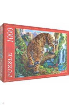 Купить Puzzle-1000 ГРОЗНЫЙ ЛЕОПАРД (Ф1000-5150), Рыжий Кот, Пазлы (1000 элементов)