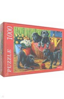 Купить Puzzle-1000 ЩЕНКИ ЛАБРАДОРА (Ф1000-8042), Рыжий Кот, Пазлы (1000 элементов)