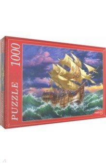 Купить Puzzle-1000 МОРСКАЯ СТИХИЯ (Ф1000-6807), Рыжий Кот, Пазлы (1000 элементов)