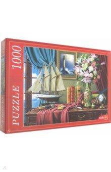 Купить Puzzle-1000 РОСКОШНЫЙ НАТЮРМОРТ (Ф1000-8750), Рыжий Кот, Пазлы (1000 элементов)