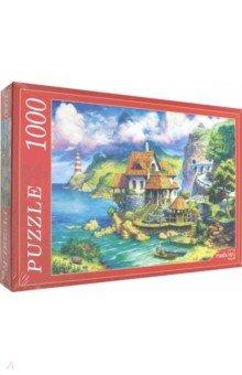 Купить Puzzle-1000 ДОМИК У МОРЯ (Ф1000-6804), Рыжий Кот, Пазлы (1000 элементов)