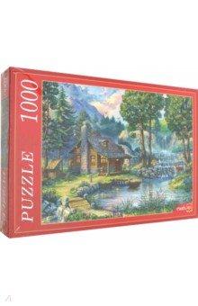 Купить Puzzle-1000 ДОМИК У ПРУДА (Ф1000-6815), Рыжий Кот, Пазлы (1000 элементов)