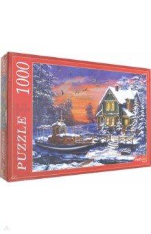 Купить Puzzle-1000 ЗИМНИЙ ДОМИК (Х1000-5153), Рыжий Кот, Пазлы (1000 элементов)