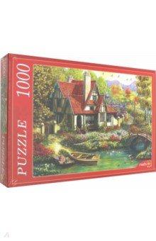 Купить Puzzle-1000 ДОМИК У ПРИЧАЛА (Х1000-7650), Рыжий Кот, Пазлы (1000 элементов)