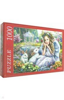 Купить Puzzle-1000 АНГЕЛ И КРОЛИКИ (Ф1000-6792), Рыжий Кот, Пазлы (1000 элементов)