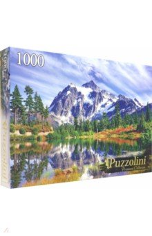 Купить Puzzle-1000 ОЗЕРО У СНЕЖНЫХ ГОР (GIPZ1000-7725), Puzzolini, Пазлы (1000 элементов)