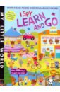 I Spy: Learn and Go (sticker book) edison mike i have fun everywhere i go