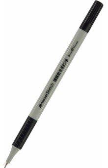 Ручка капиллярная с грипом SKETCH, 0.4мм, черная (36-0001)