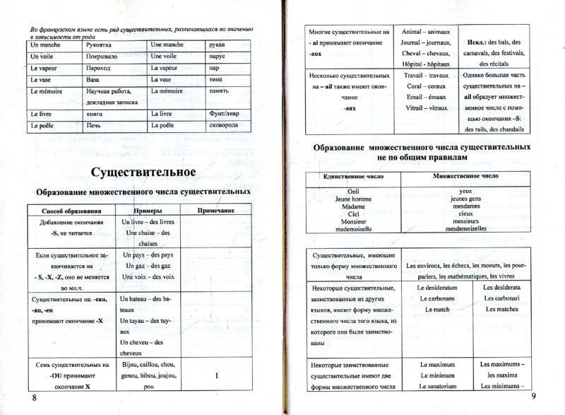 Иллюстрация 1 из 28 для Грамматика французского языка в таблицах | Лабиринт - книги. Источник: Лабиринт
