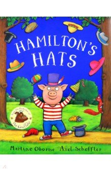 Купить Hamilton's Hats, Mac Children Books, Первые книги малыша на английском языке