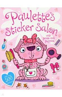 Купить Paulette's Sticker Salon, Make Believe Ideas, Книги для детского досуга на английском языке
