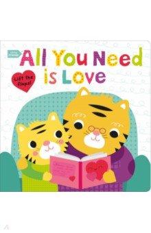 Купить Little Friends. All You Need Is Love, Priddy Books, Первые книги малыша на английском языке