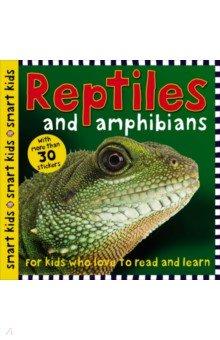 Купить Reptiles and Amphibians, Priddy Books, Художественная литература для детей на англ.яз.