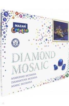 Купить Алмазная мозаика ЗИМНИЙ ВЕЧЕР 40х50 см (M-10180), MAZARI, Аппликации