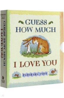 Купить Guess How Much I Love You. Panorama Pops, Walker Books, Художественная литература для детей на англ.яз.