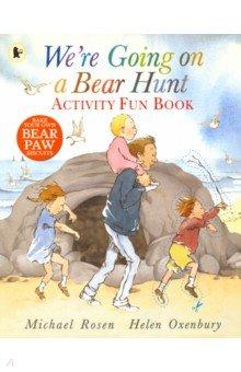 Купить We're Going on a Bear Hunt. Activity Fun Book, Walker Books, Художественная литература для детей на англ.яз.