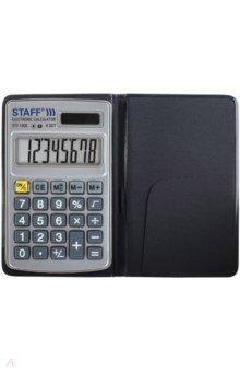 Калькулятор карманный (8 разрядов, металлический корпус) (STF-1008 (250115)