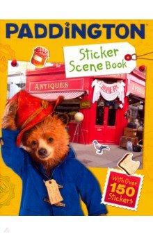 Купить Paddington Sticker Scene Book, Harpercollins, Книги для детского досуга на английском языке