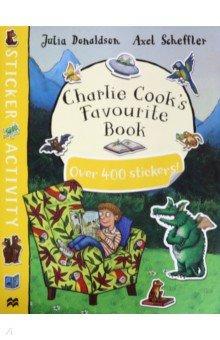 Купить Charlie Cook's Favourite Book Sticker Book, Macmillan, Книги для детского досуга на английском языке