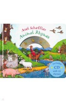 Купить Mother Goose's Animal Rhymes +CD, Macmillan, Художественная литература для детей на англ.яз.