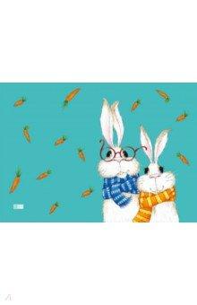 Купить Цветная пленка для уроков труда Кролики (50х70 см) (48317), Феникс+, Доски для лепки, стеки, формы