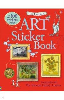 Купить Art Sticker Book, Usborne, Книги для детского досуга на английском языке