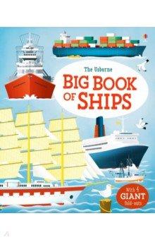 Купить Big Book of Ships, Usborne, Художественная литература для детей на англ.яз.