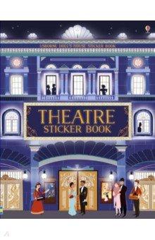 Купить Theatre Sticker Book, Usborne, Книги для детского досуга на английском языке