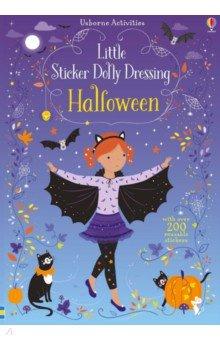 Купить Little Sticker Dolly Dressing Halloween, Usborne, Книги для детского досуга на английском языке