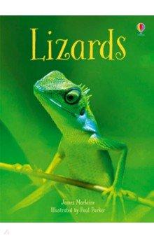 Lizards, Usborne, Художественная литература для детей на англ.яз.  - купить со скидкой