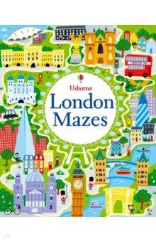 Купить London Maze Book, Usborne, Художественная литература для детей на англ.яз.