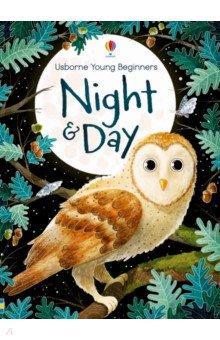 Купить Night and Day, Usborne, Художественная литература для детей на англ.яз.